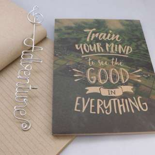 [READY STOCK!] Notebook | Train Your Mind