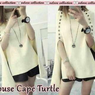 Blouse Cape Turtle