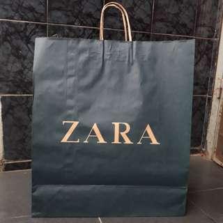 Paperbag zara super large XL