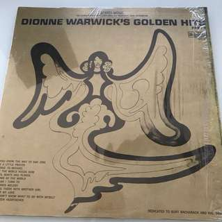 Vinyl record Dionne Warwick's Golden hits