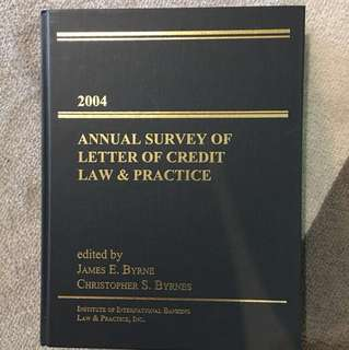 Annual Survey of Letter of Credit Law & Practice