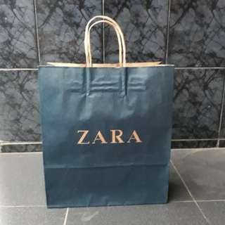 Paperbag zara size medium