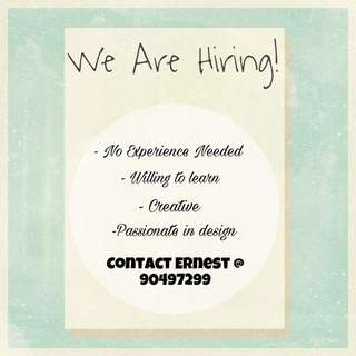 Interior Designer/ Sales Associate/ Project Coordinator