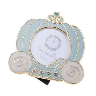 Japan Disneystore Disney Store Cinderella Gold Line Photo Frame