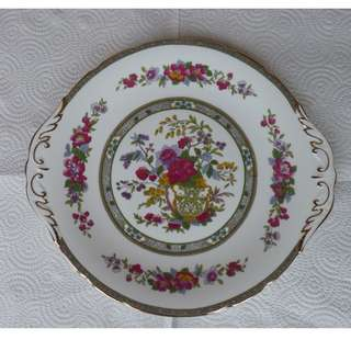 Paragon - Tree of Kashmir - 1 Handled Plate & 1 Sweet Meats  Candy Dish