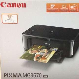Canon pixma mg3670 Printer 打印機 影印機