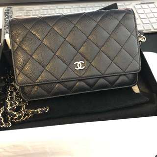 Chanel Wallet On Chain A33814
