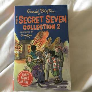 Secret Seven, 3 Books in one