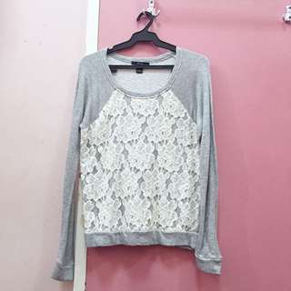 Forever21 lacey pullover