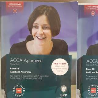 ACCA F8 STUDY TEXT & REVISION KIT BPP