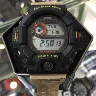 Casio G-Shock Rangeman GW-9400DCJ-1 GW-9400DCJ gw9400dcj 迷彩貓 行山功能