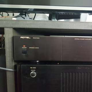 Rotel Power Amp RB970BX MkII