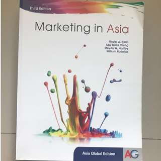 Marketing in Asia (Asia Global Edition)