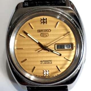 SEIKO 5 Automatic Watch 7009-8580-P