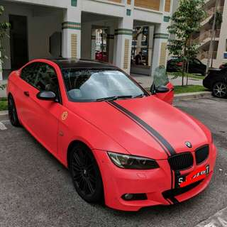 BMW e92 335i  twin turbo
