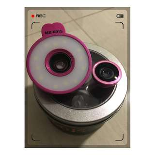 Beauty Camera Clip Fisheye Wide Macro Angle Clips