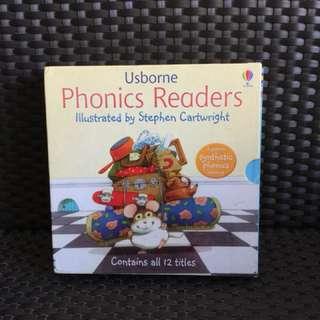 Usborne Phonics Readers Collection - 12 books
