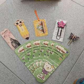 Fan + Bookmarks