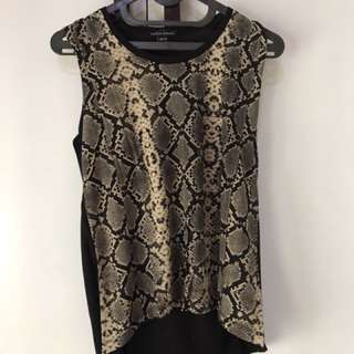 Snake tank top (muzca woman)
