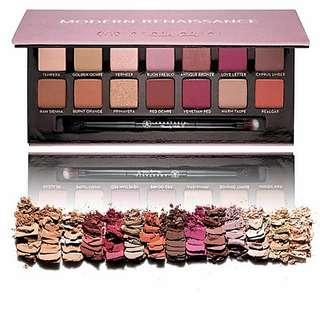 **😍情人節$600/2盒** 美國Anastasia Beverly Hills Modern Renaissance Eyeshadow Palette 14色文藝復興眼影盤