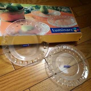 【雜貨】法國 Luminarc 水果盤 五入 18cm