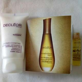 BN Decleor Aroma Confort Moisturising Body Milk Or Decleor Body Refining Oil Serum Patchouli & Grapefruit