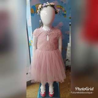 Blush Pink party dress