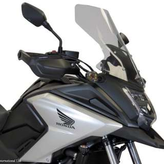 Honda NC750X 16-17 Powerbronze Flip TALLER Touring Windshields (500MM high)