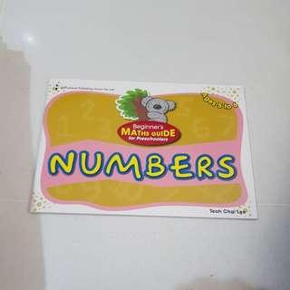 Preschoolers - numbers