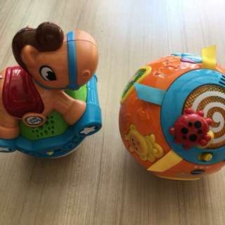 Preloved Leapfrog Roll & Go Rocking Horse