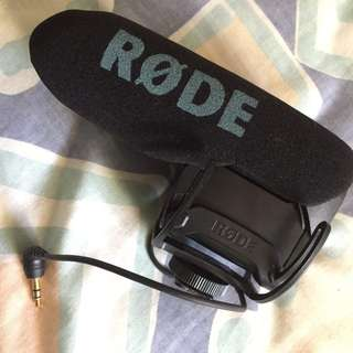 Rode Videomic Pro (used only twice)