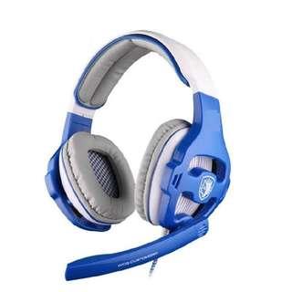 New & Original SADES SA-903(Blue) gaming headset