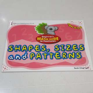 Preschoolers - shapes, sizes and patterns