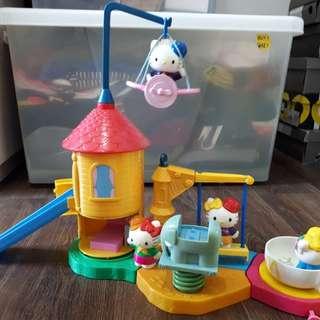Hello Kitty playground set collection