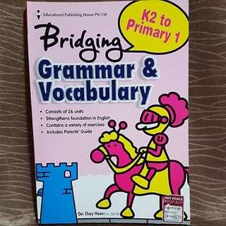 Bridging K2 to P1 Grammar & Vocabulary