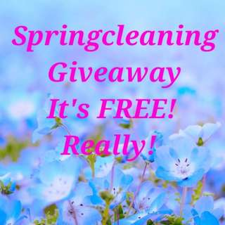Springcleaning Giveaway. It's FREE!