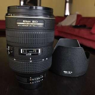 單眼鏡頭 Nikon AF-S Nikkor 28-70mm f1:2.8 ED