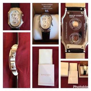 Philip Stein Double Face Watch