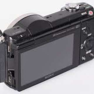 Sony Alpha a5000 body without lense