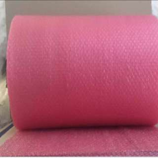 Pink Bubble Wrap Small Eye (sold per meter)