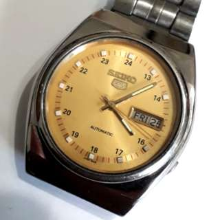 Seiko 5 Vintage Automatic Watch 7009-5320-A1