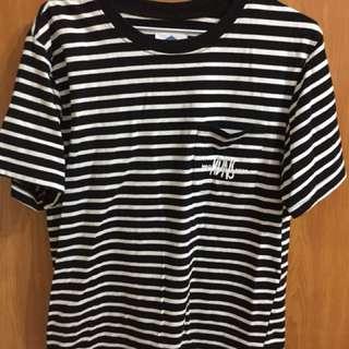 🚚 黑白條紋短袖