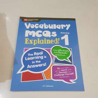 Vocabulary mcqs explained primary 1