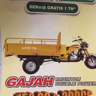 Motor niaga APP KTM Gajah 500cc