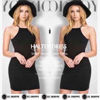 Rica Halter Dress 👗