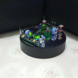 ☆☆ Tamiya Mini 4WD Ready to Race Car-  Astro Boomerang Black Special (Open Setup)