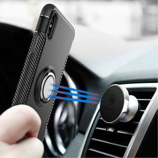 IPHONE 360 ROTATING STANDABLE MAGNETIC CASE
