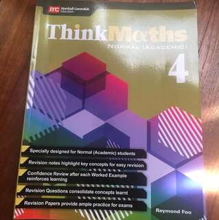 Think Maths (Normal Academic : Sec 4)