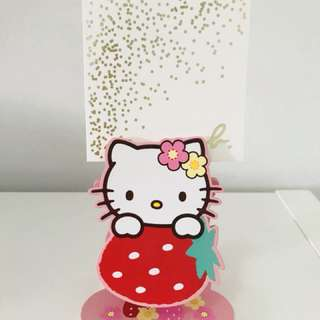 Sanrio Hello Kitty Photo / Memo Holder