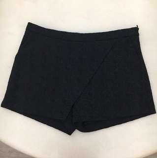 Kiyo Ladies Black Skorts - Box Design